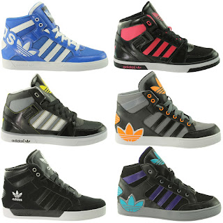 OFFER Adidas for Boys – adidas Originals Hard Court Hi Boots £19.99,
