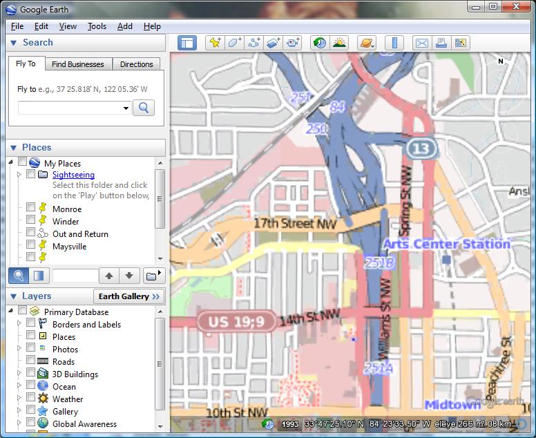 GIS Coder: Open Street Maps KML Super Overlay