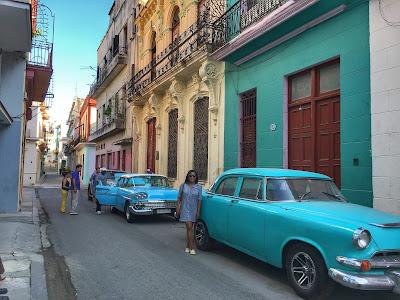 Tausha Cowan in Old Havana, Cuba