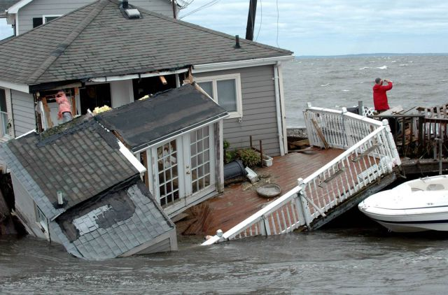 Hurricane Irene Destruction in America