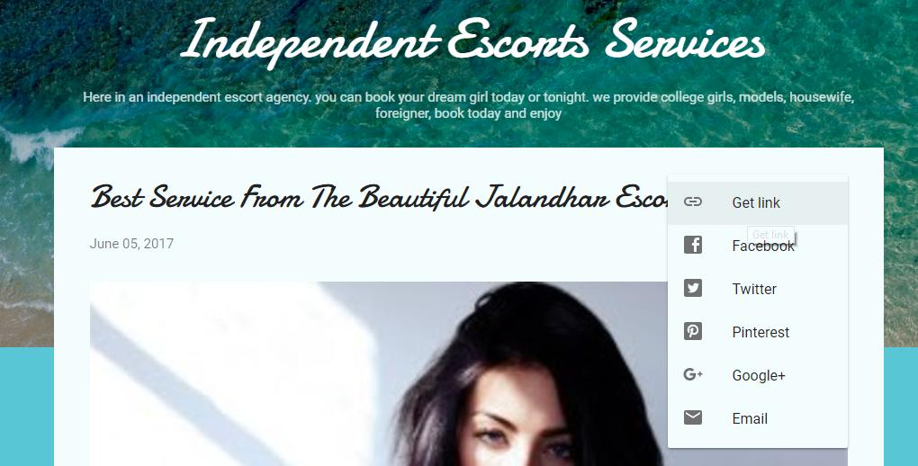 Get your website link