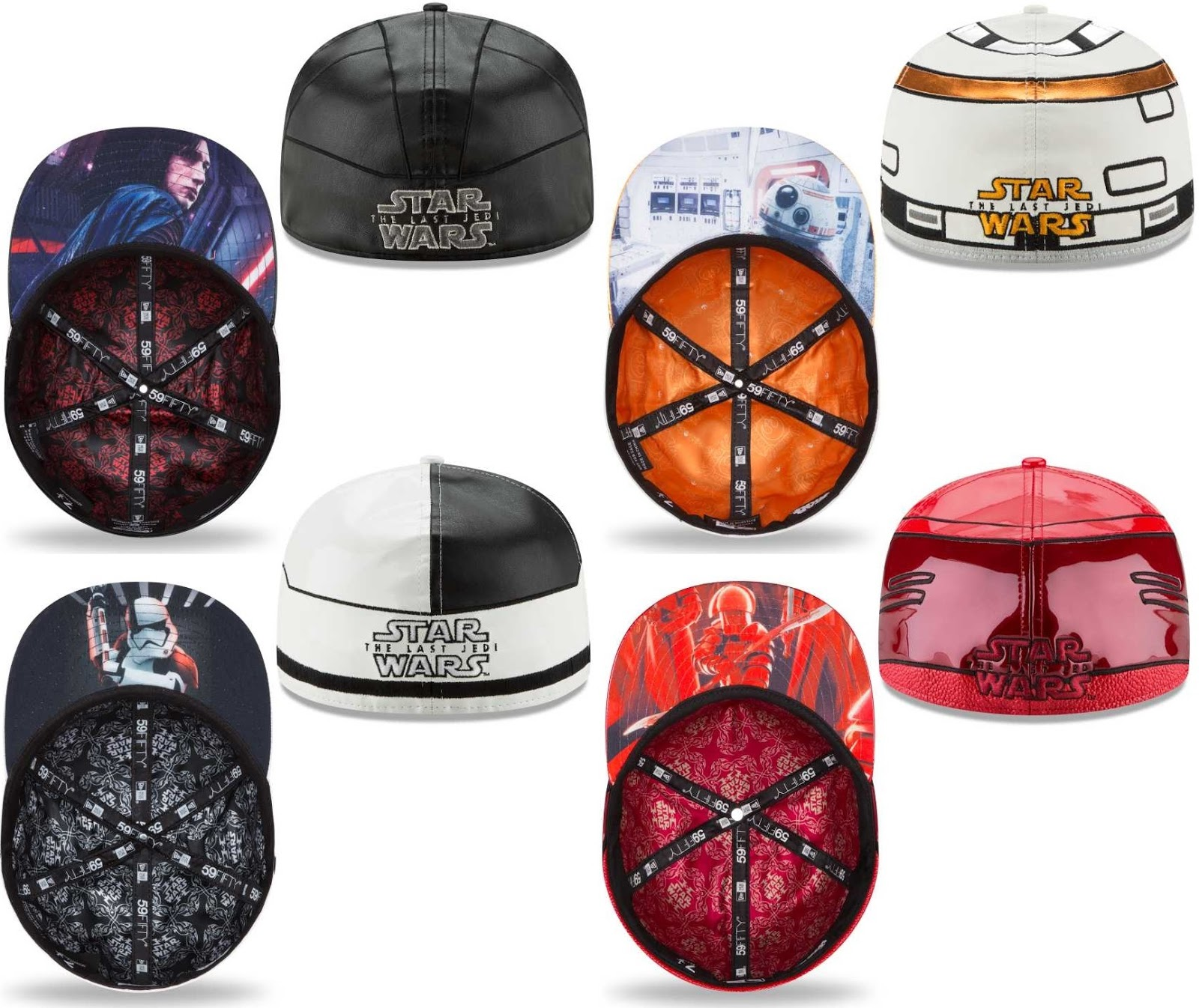 The Blot Says...  Star Wars  The Last Jedi Helmet 59FIFTY Fitted Hat ... 49055d148d69