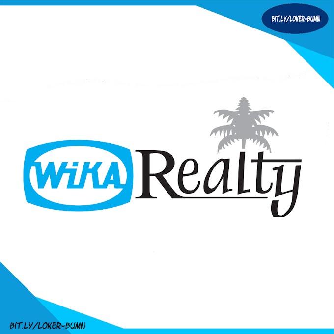 Rekrutmen Lowongan Kerja PT Wijaya Karya Realty