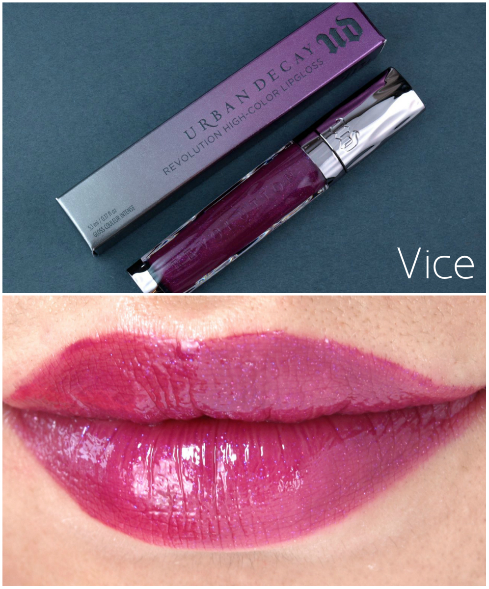 Urban Decay Revolution High-Color Lipgloss Review And Swatches | The Happy Sloths Beauty ...