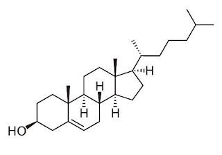 formula estrutura quimica colesterol