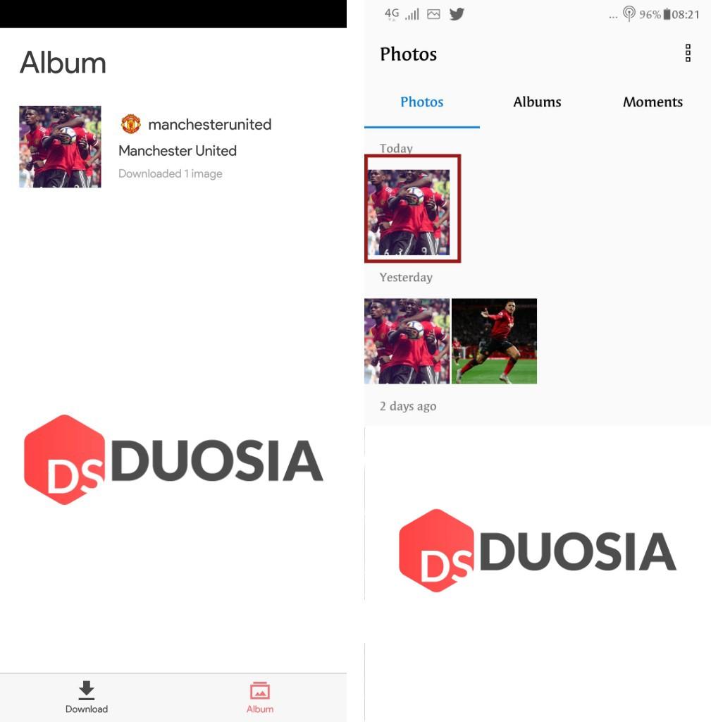 Cara mengunduh Foto Instagram menggunakan image downloader di Android dengan simpel