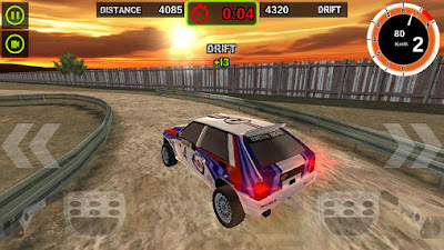 Screenshot: Rally Racer Dirt for Android