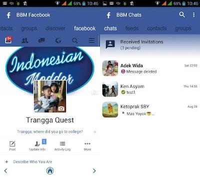 BBM Mod Facebook (FBUI)