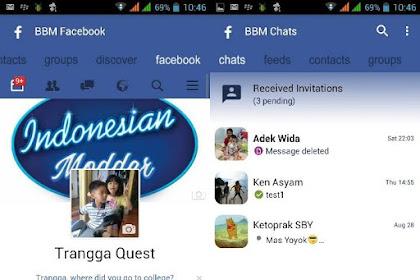 BBM Mod Facebook Theme v3.0.1.25 Apk