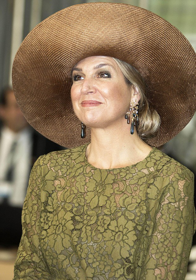 Queen Maxima was attending the Dutch launch of Singularity University d7ce97bf1063