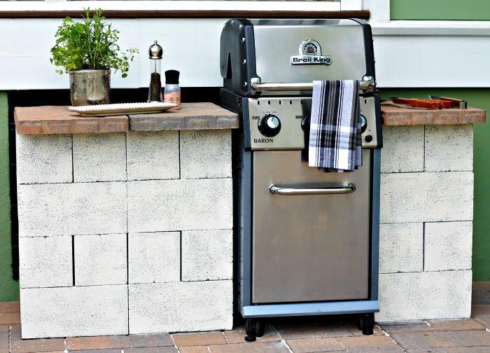 Rosalie Rodney: weekend diy - grill station on Patio Grill Station id=83303