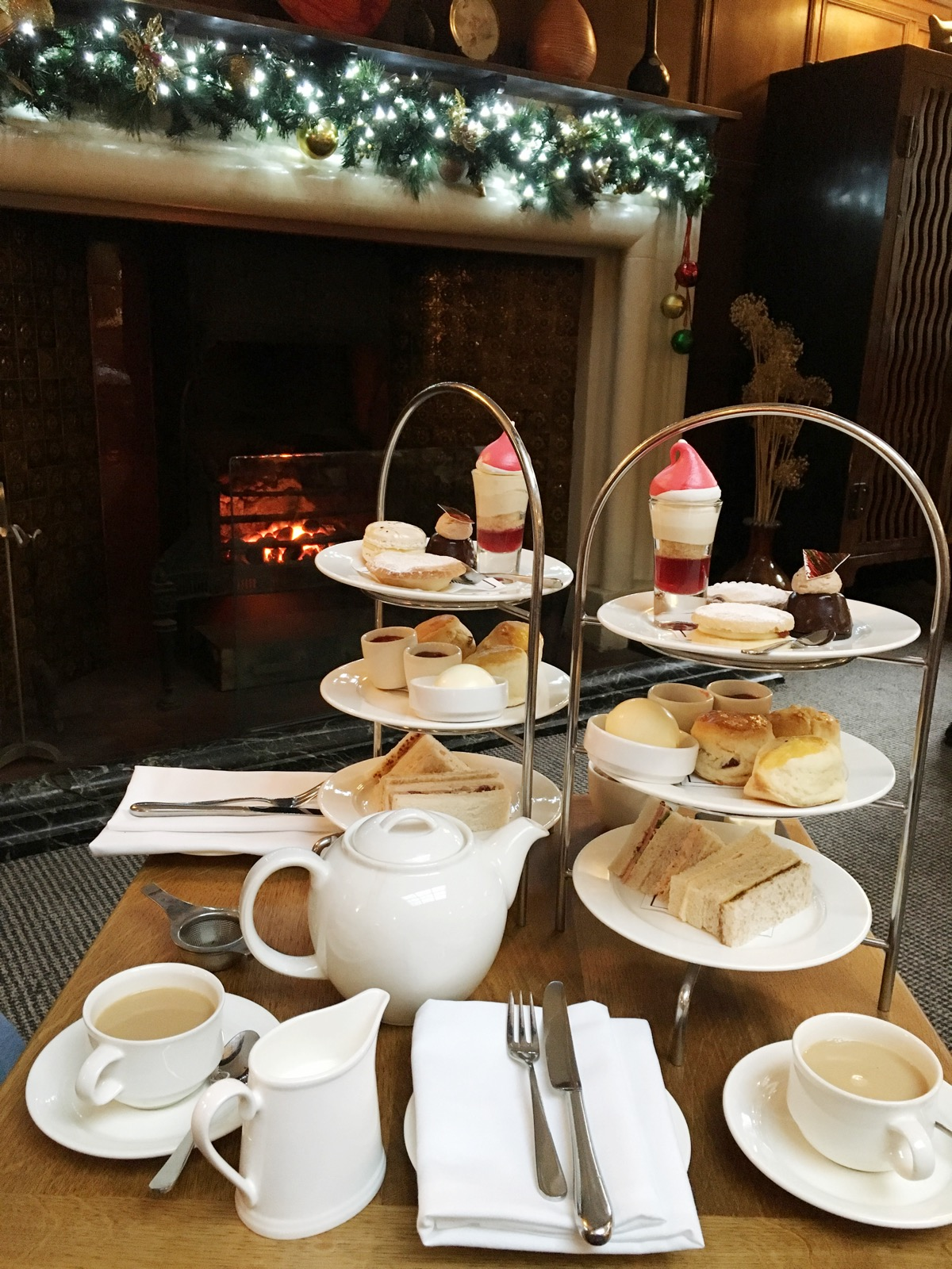 Festive Afternoon Tea Jesmond Dene House