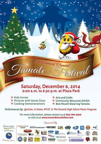Camarillo Christmas Parade.7th Annual Oxnard Tamale Festival Christmas Parade