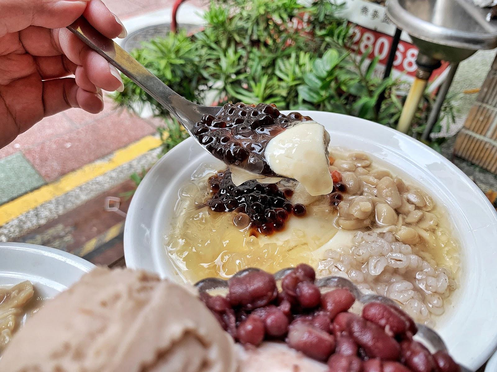 嘉義美食【嘉義品安豆漿豆花】枸杞銀耳豆花