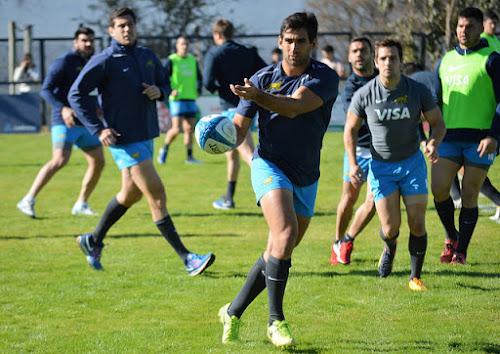 Formación de Los Pumas vs Georgia en Jujuy