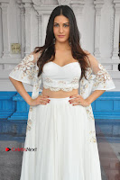 Telugu Actress Amyra Dastur Stills in White Skirt and Blouse at Anandi Indira Production LLP Production no 1 Opening  0084.JPG