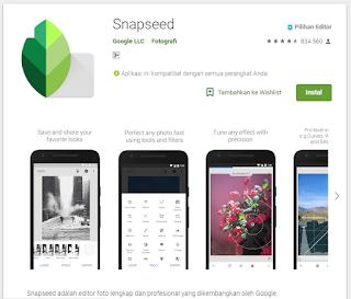 5 Aplikasi Edit Photo Pilihan di Android