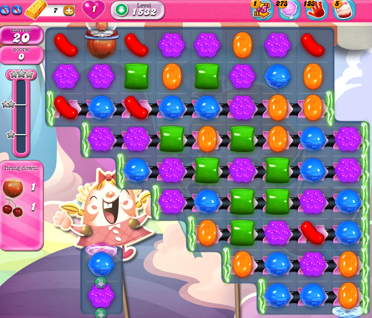 Candy Crush Saga 1532