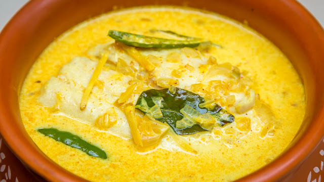 Indian Salmon Coconut Curry Recipe With all Steps