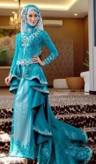Model Baju Kebaya Pesta Khusus untuk Wanita Berhijab