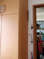 Panasonic LED常備灯 BF-BE01K-W 玄関に設置