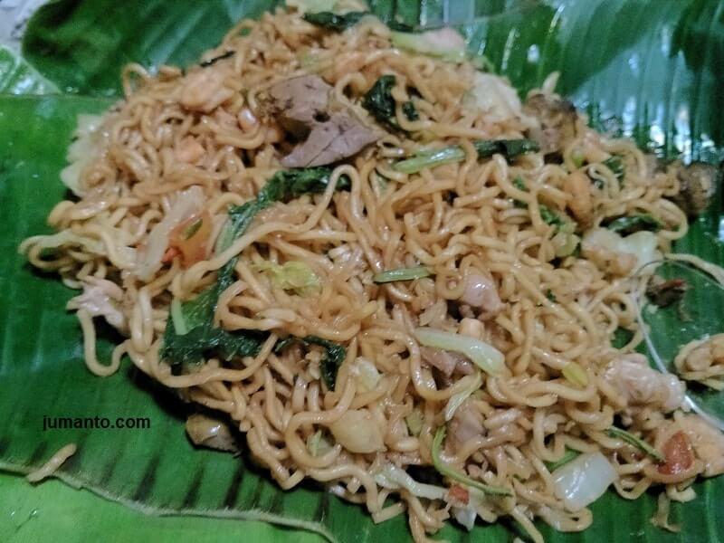 harga dan menu makanan warung nasi goreng bang ali palembang
