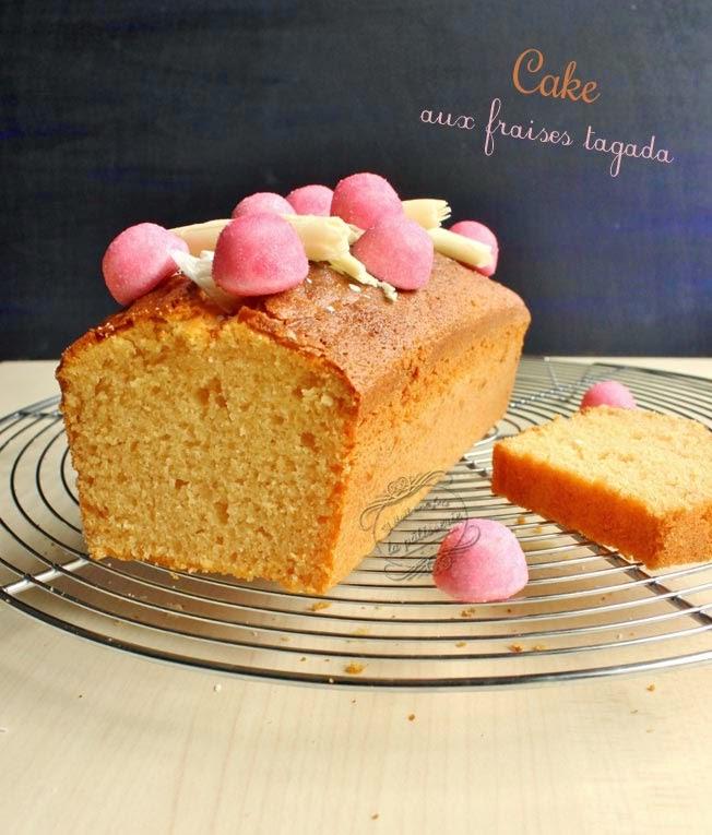 gâteau aux fraises tagada