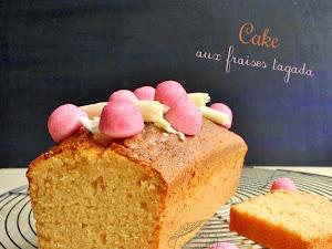 Cake aux fraises tagada (sans colorant !)