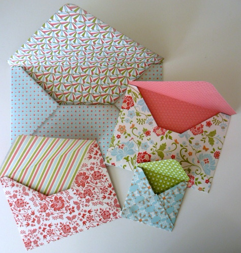 kartenimpressionen briefumschl ge selber machen. Black Bedroom Furniture Sets. Home Design Ideas