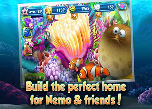لعبة السمكة نيمو Nemo's Reef