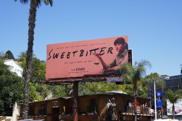 Sweetbitter Starz series billboard