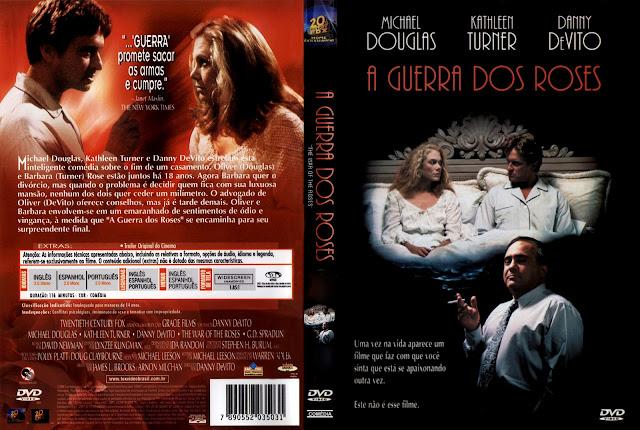 Capa DVD A Guerra dos Roses