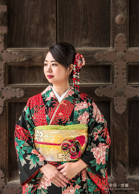 振袖, 京都和服寫真