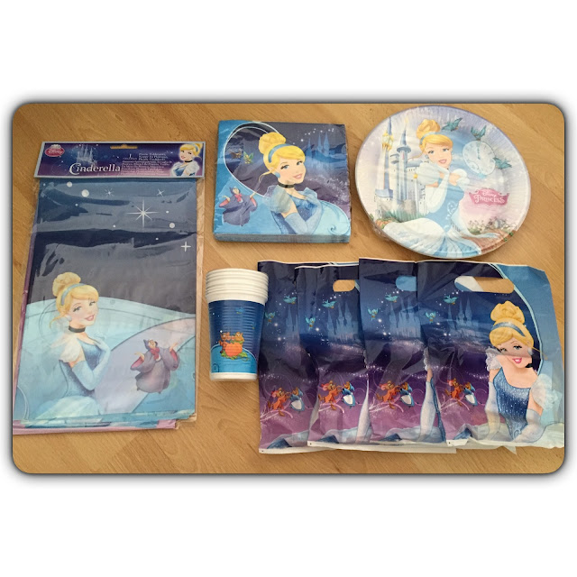 party bags and supplies cinderella party pack
