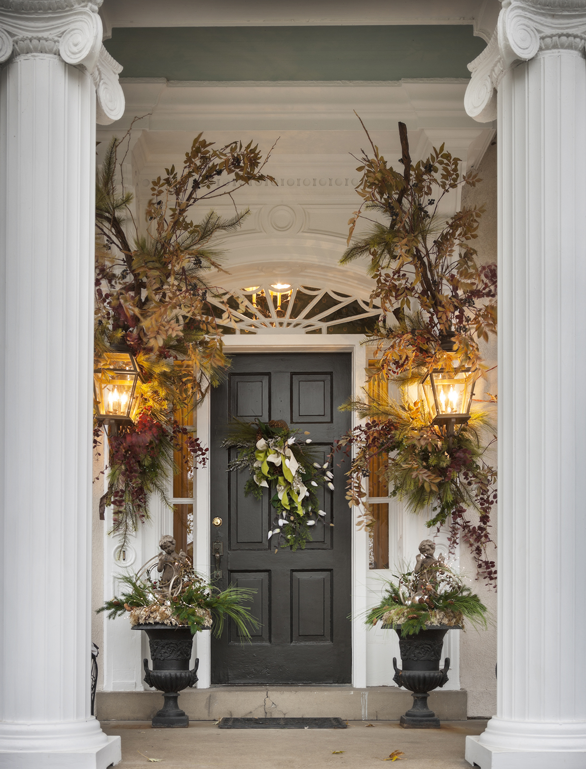 Domythic bliss in the bleak midwinter - Front entry door ideas ...