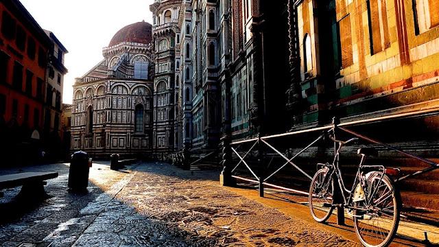 Cidades turísticas da Toscana na Itália