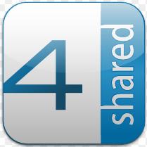 Cara Mudah Download Gratis mp3 dan video di 4shared