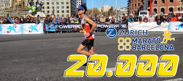 20.000 corredores en la Zurich Marató Barcelona 2016