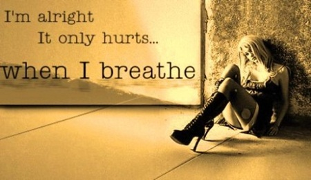 I Am Alright, It Only Hurts When I Breathe.