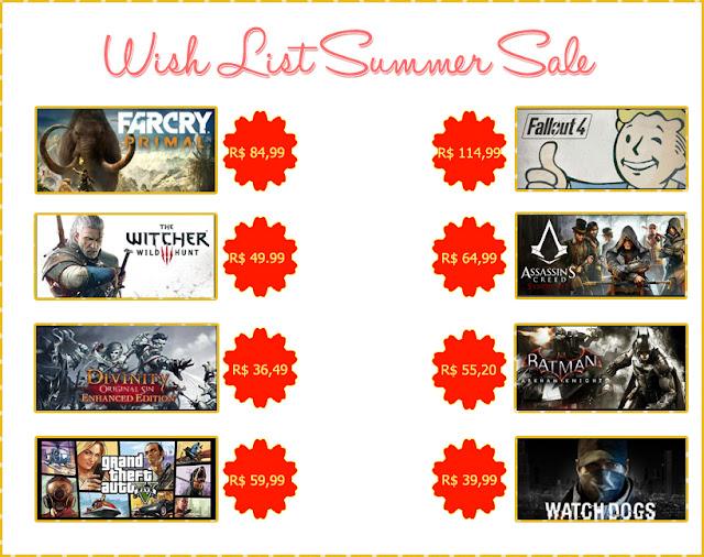 Steam+summer+sale+seleção+jogos+games+legalmeente+ruiva+wish+list