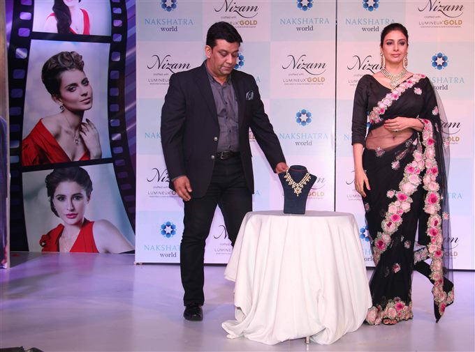 Tabu Launch Nakshatra New Jewelry Collection Stills
