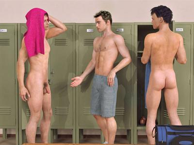 Gay Men In Locker Room 91
