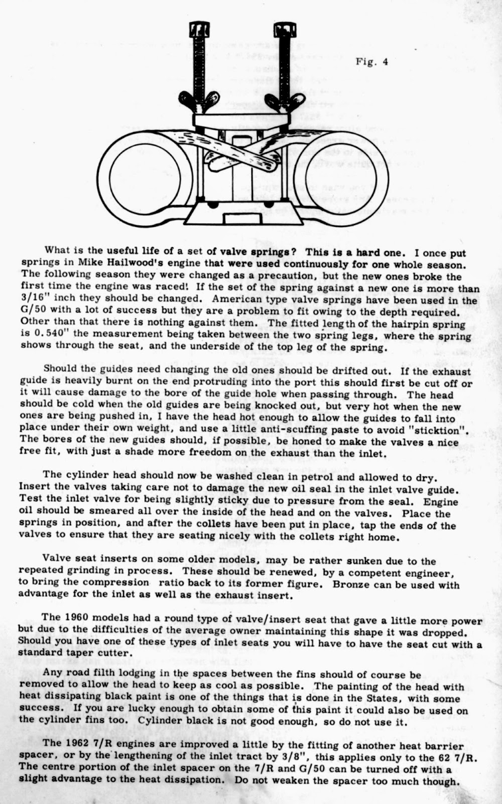 The Velobanjogent: Jack Emmott's Book of Engines, The AJS