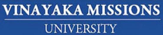 Vinayaka Missions University (VMU) Results 2017