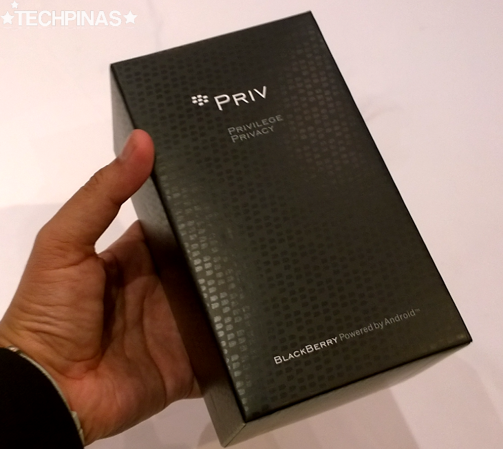 BlackBerry Priv, BlackBerry Priv Box
