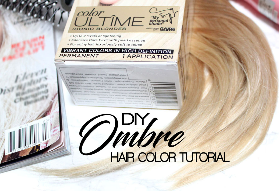Monroe misfit makeup beauty blog diy ombre hair with schwarzkopf there is something about the change of season that makes me want to change my hair color i have been blonde for years but lately i have been enjoying solutioingenieria Choice Image