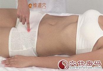 維道穴位 | 維道穴痛位置 - 穴道按摩經絡圖解 | Source:xueweitu.iiyun.com