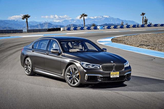 BMW M760i 0-60 mph