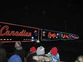 Canadian Pacific Holiday Train.