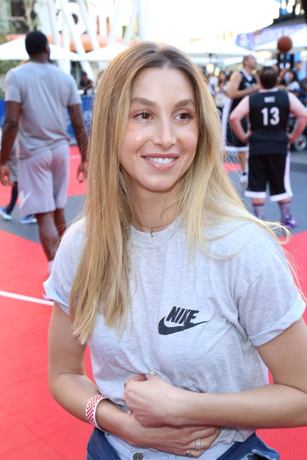 Whitney Port at 8th Annual Nike Basketball 3on3 Tournament in Los Angeles